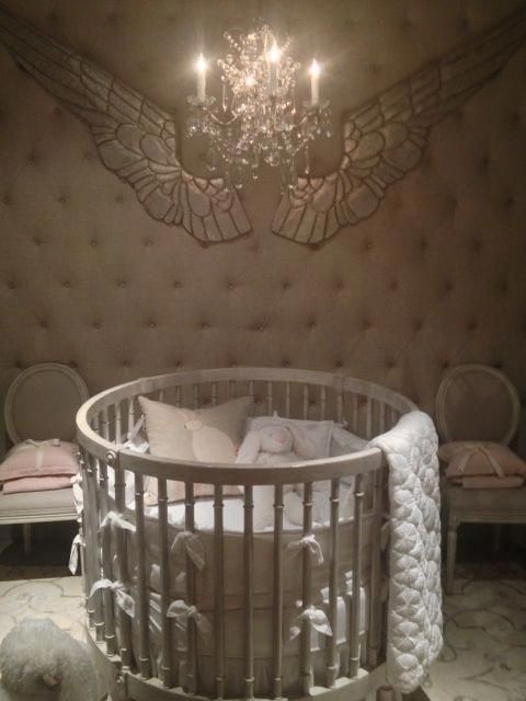 Baby Child By Restoration Hardware Round Crib Amazing