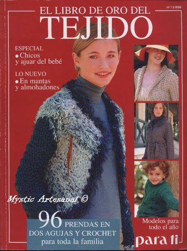 Libro de oro del tejido - Jimena Rodriguez - Álbuns da web do Picasa