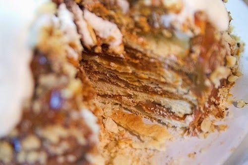The Latin Baker: Chilean Torta Milhojas (Thousand Layer Cake)