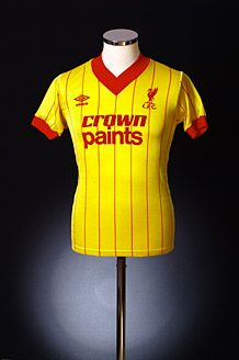 1981-84 Liverpool Away Shirt S | Retro Liverpool Shirts | Old Liverpool Football…