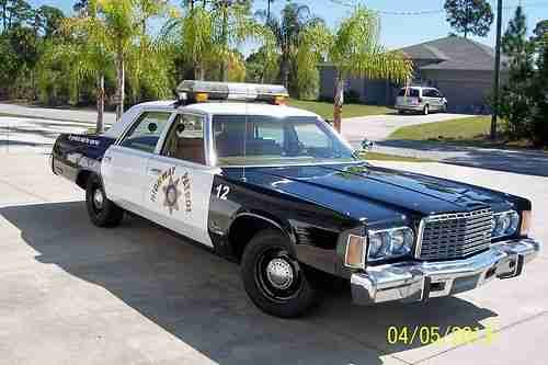 1976 chrysler newport police car antique police vehicles pinterest. Black Bedroom Furniture Sets. Home Design Ideas