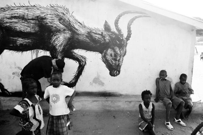 ROAs graffiti