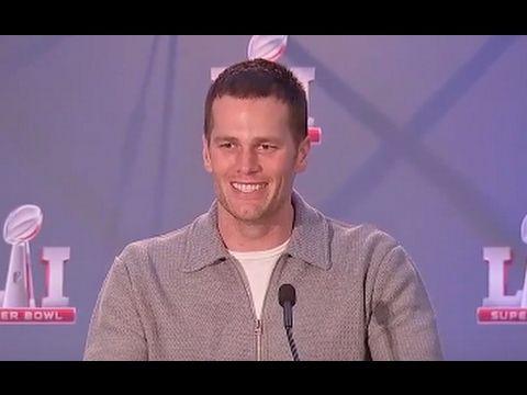 Tom Brady Super Bowl 51 Victory Press Conference (FULL)   ABC News - YouTube