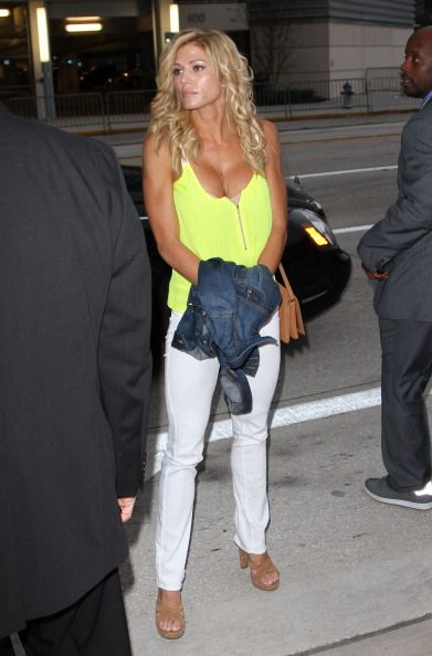 Torrie Wilson arrives at 61st Annual NBA All Star Game at Amway Center on February 26 2012 in Orlando Florida