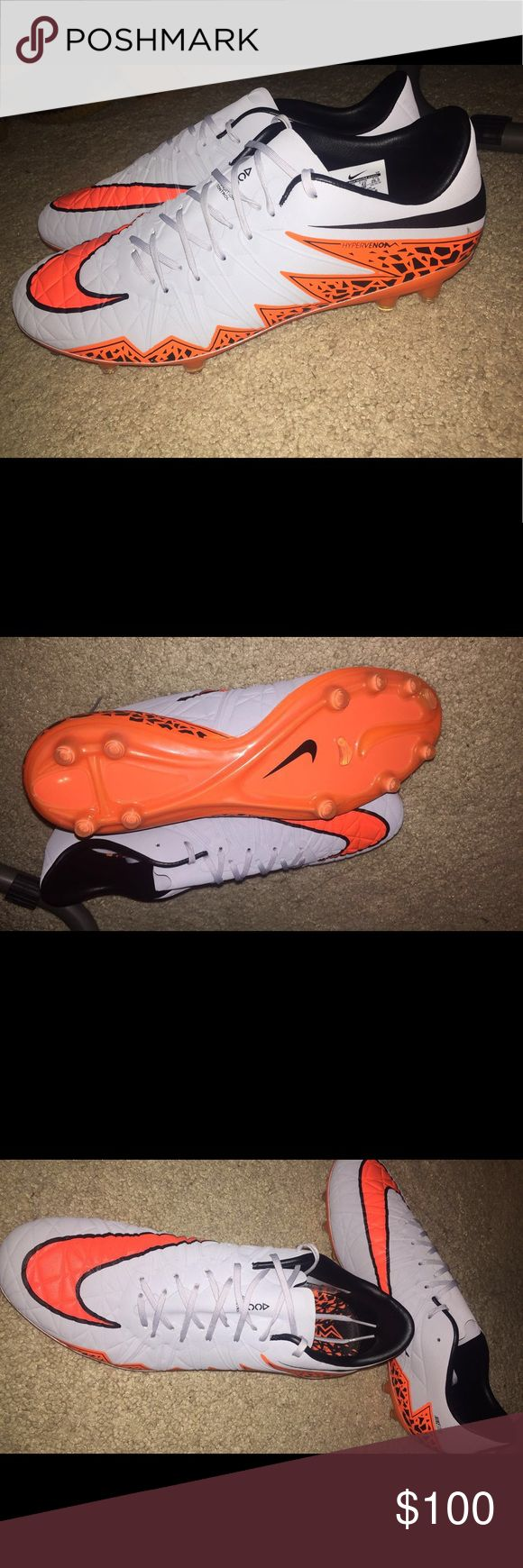 Nike hypervenom 2 phinish 100% authentic. Brand new with no box. Feel free to use the offer button. Nike Shoes