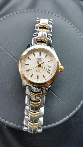 cbe063f6e83e TAG Heuer Link Two Tone 18k Gold WJF1352.BB0581 Wrist Watch for Women