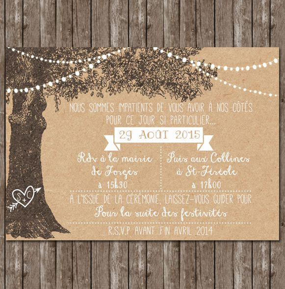best 25+ invitation mariage ideas on pinterest | papeterie mariage
