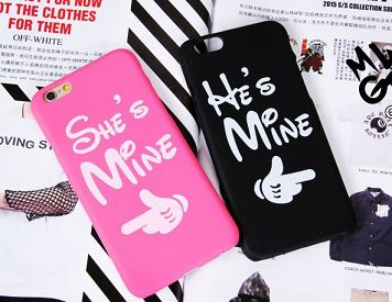 His and Hers iphone 5 Hard Covers