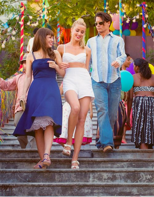 2011 - The Rum Diary - stars Johnny Depp & Amber Heard, where they met & fell in love