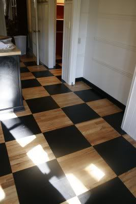 Painted Plywood Floors | idea notebook} How to Paint a Plywood Floor | nichole staker design ...