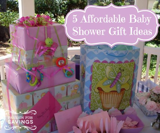 Be Sure To Check Out These Great Ideas For Cheap Baby Shower Gifts!