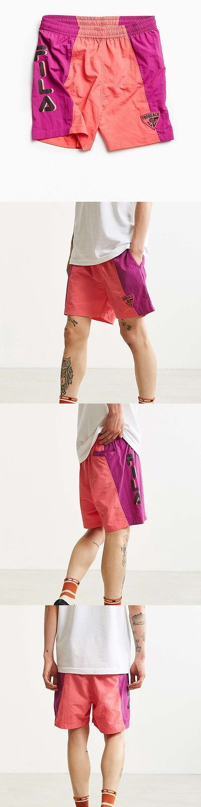 Shorts 59375: Urban Outfitters Mens Fila + Uo Perona Volleyball Short -> BUY IT NOW ONLY: $54 on eBay!