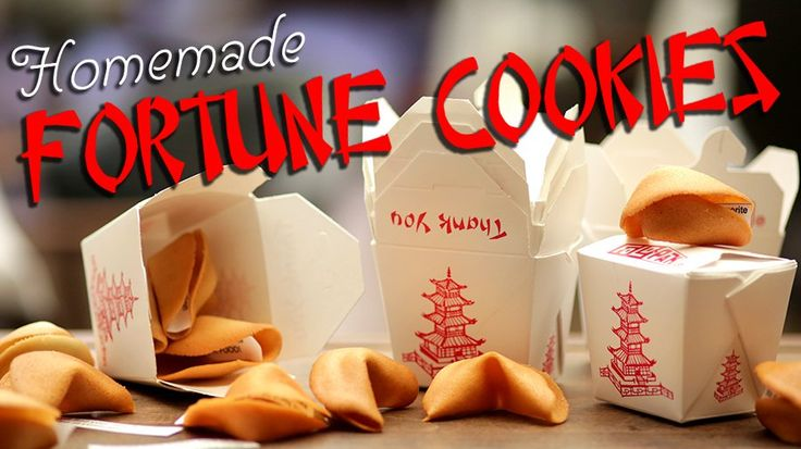 Make Homemade Fortune Cookies For a Happier Chinese New Year: In celebration of Chinese New Year, Della Gossett, executive pastry chef at Wolfgang Puck's Spago Beverly Hills, shares her recipe for homemade fortune cookies.