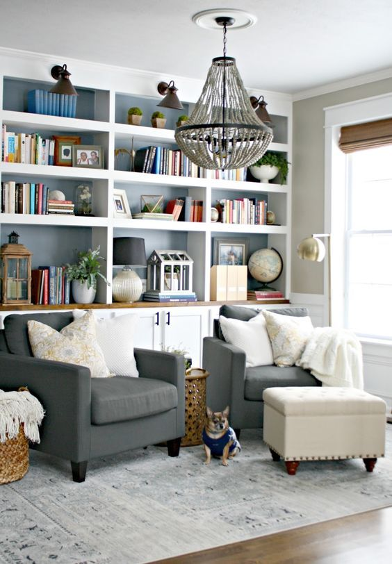 Stuffed Living Room Chairs