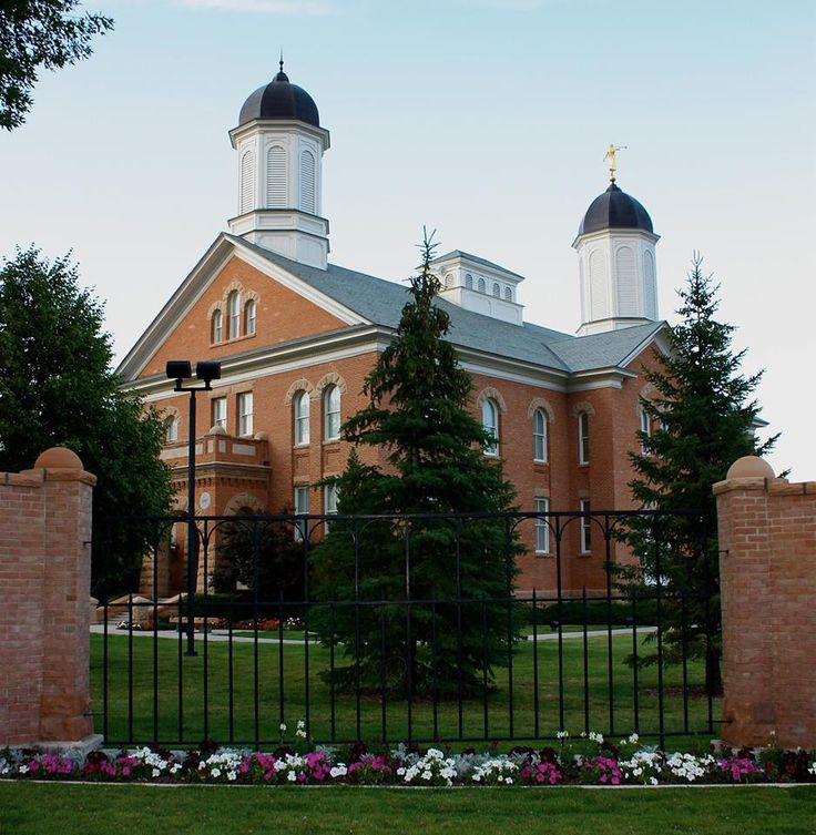 The Vernal Utah Temple (of The Church of Jesus Christ of Latter-day Saints lds.org) http://facebook.com/163927770338391 Learn more http://lds.org/church/temples and #passiton. #ShareGoodness