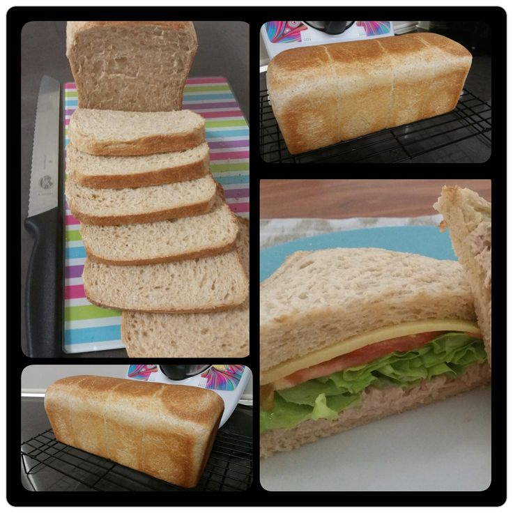 Jumbo Wholemeal Bread Loaf