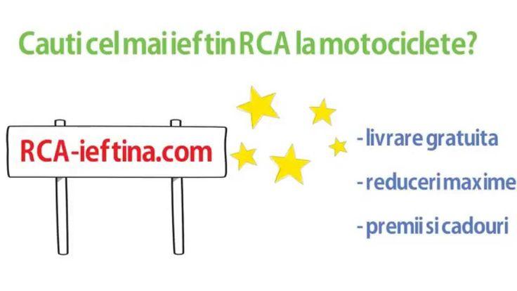 RCA ieftin motociclete, mopede si scutere.  Vezi ofertele disponibile pentru motorul tau!