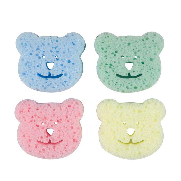 Sevimli desenleri ve renkleri bebeğin banyosunu zevkli hale getirir. #baby #bath #banyo