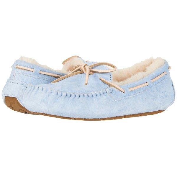 3f661941e31 UGG Dakota (Sky Blue) Women's Slippers ($100) ❤ liked on Polyvore ...