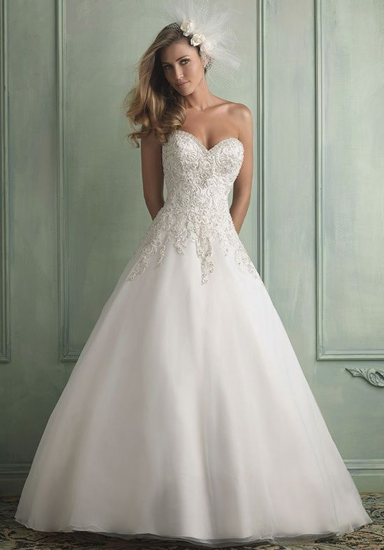 Allure Bridals Allure Bridals Bridal Gowns Ball Gown Wedding Dress