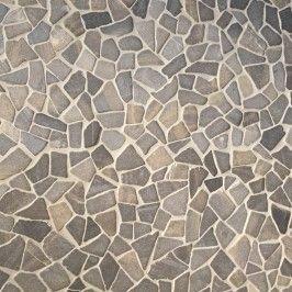Venice Beach Pebbles, impermo, wandtegel, badkamertegel, mozaïek, natuursteen, steentapijt
