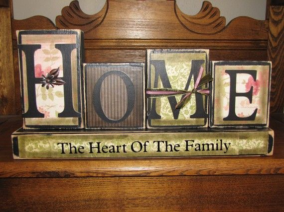 Home  The Heart of the Family by PunkinSeedProduction on Etsy