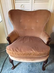 Two beautiful vintage armchairs