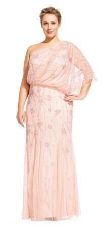 Plus Size Bridesmaid Dresses   Adrianna Papell