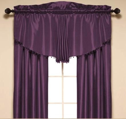 The Catherine Window Panel will add a unique touch to your room with it's stunningly shaped valance. #AnnasLinens