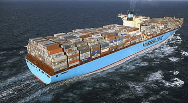 MAERSK LINE BEGINS 5 YR $15 BILLION CONTAINER SHIP INVESTMENT
