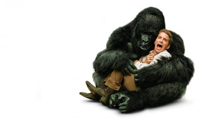 Gorilla with Man