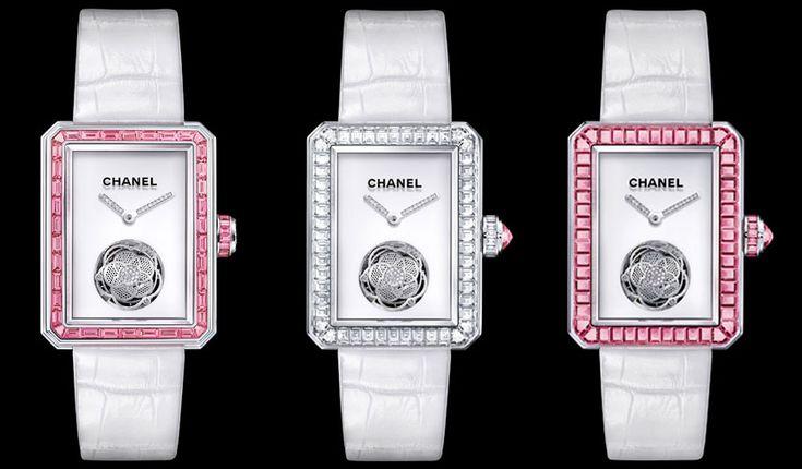 Conozca Première Tourbillon Volant un reloj de diamantes diseñado por Chanel