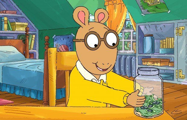 "Photo Credit: Arthur © 2014 WGBH. ""Arthur"" & the other Marc Brown ARTHUR characters and underlying materials (including artwork) ™ and © Marc Brown."