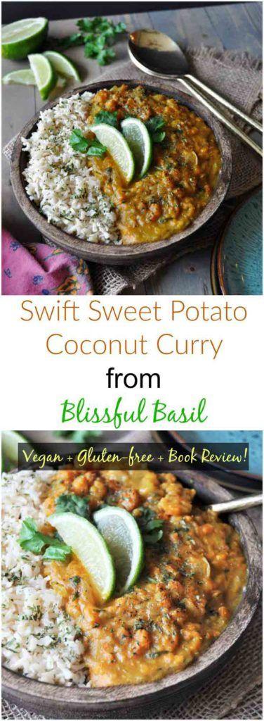 Savory sweet potato curry! Vegan, healthy, gluten-free, and delicious! www.veganosity.com