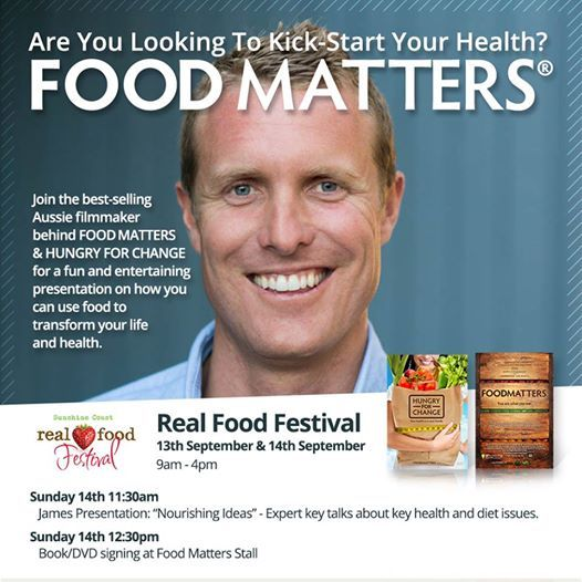 Looking for something to do this weekend? Come and visit us at the Real Food Festival Sunshine Coast! http://realfoodfestivals.com.au/