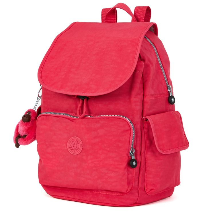 Ravier Backpack - Vibrant Pink | Kipling