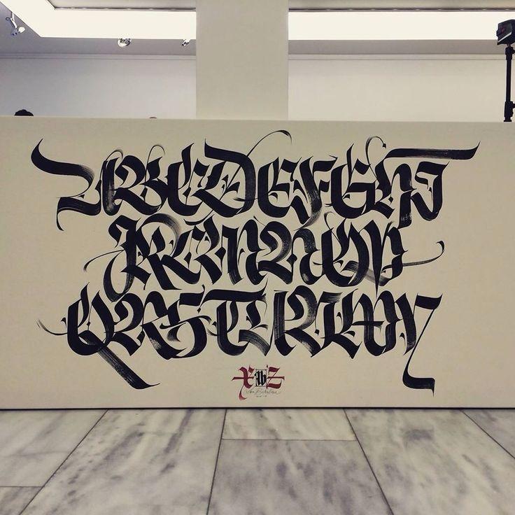 Calligraphy / alphabet / Luca Barcellona