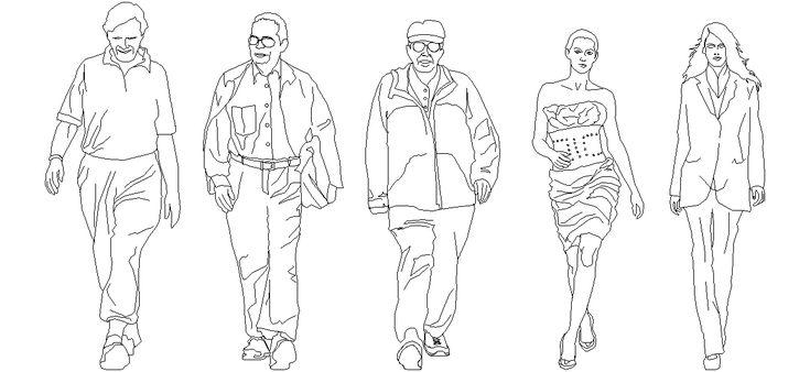 Dwg Adı : Ön görünüş insan çizimleri  İndirme Linki : http://www.dwgindir.com/puanli/puanli-2-boyutlu-dwgler/puanli-insan-ve-hayvanlar/on-gorunus-insan-cizimleri.html