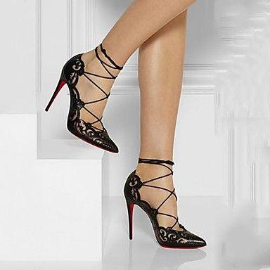 Pompes chaussures pour femmes talon pointu orteil stiletto chaussures habillées plus de couleurs disponibles - CAD $ 34.74
