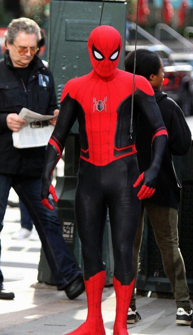 Spiderman Far From Home Spiderman Suit Mens Costume