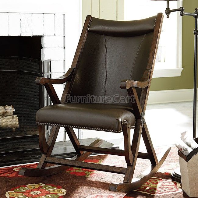 Hidden Treasures Leather Rocker Chair  14 best Accent Chairs images on  Pinterest. Lease To Own Accent Chairs Ft  Worth   ashevillehomemarket com