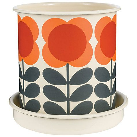 Buy Orla Kiely Plant Pot, Large Online at johnlewis.com