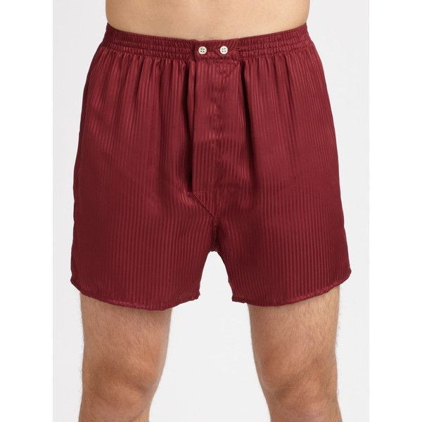 Derek Rose Silk Boxer Short ($80) ❤ liked on Polyvore featuring men's fashion, men's clothing, men's underwear, apparel & accessories, mens woven boxers, mens silk loungewear, mens boxers, mens silk boxers and mens loungewear