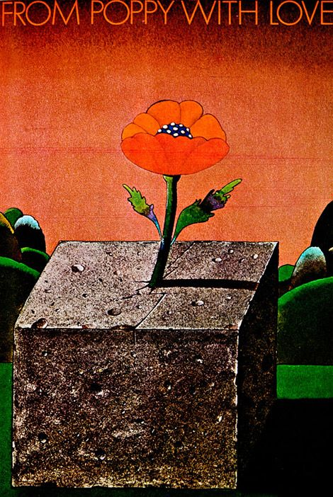 Un des plus brillants graphic designers du XXe siècle   Milton Glaser co-fondateur du PushPin Studio - Blog e-artsup