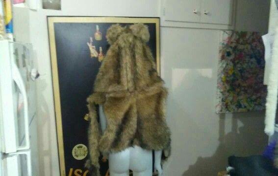 Furry bear/ Ewok vest