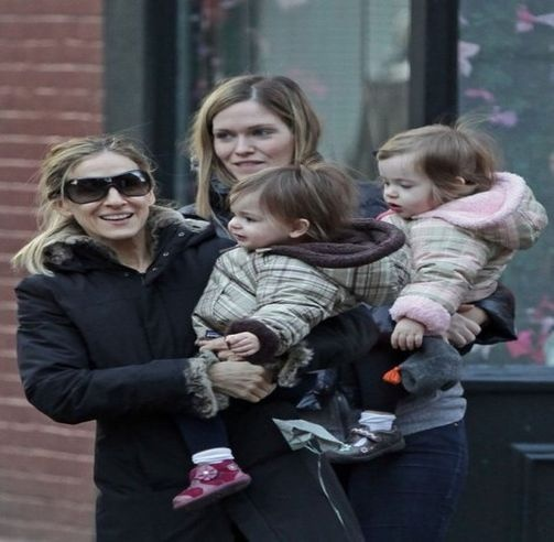 Sarah Jessica Parker knows how to dress the little ones! http://bit.ly/y4eB0y