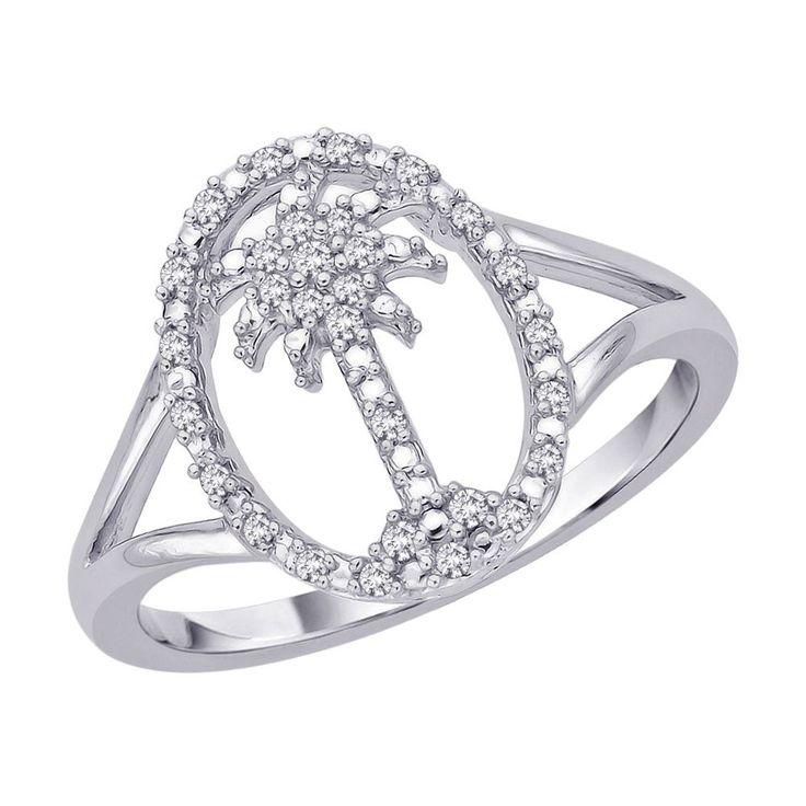 Angara s Brown Diamond Interlocking Infinity Ring in White Gold jH6Zss