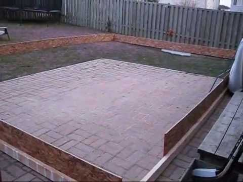 How To Build A Backyard Ice Rink 2010
