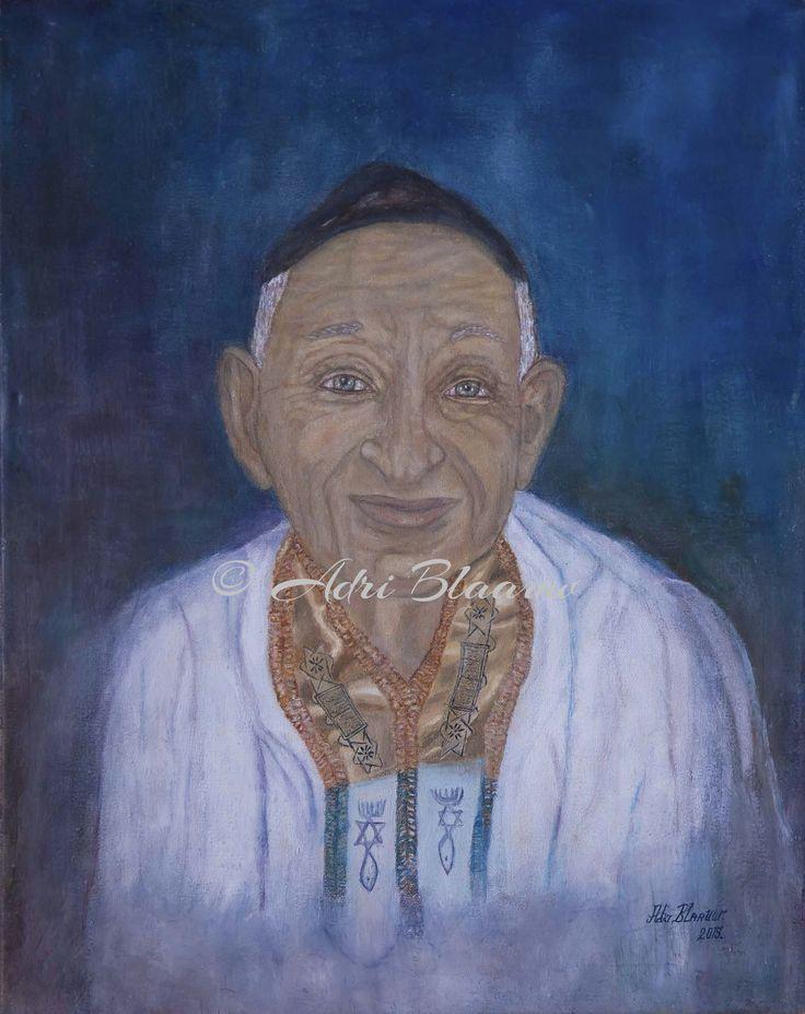 Old Jewish Man | Cross and Crayons