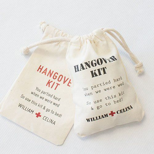 17 Wedding Welcome Bags and Favors Your Guests Will Love - Destination Wedding Details